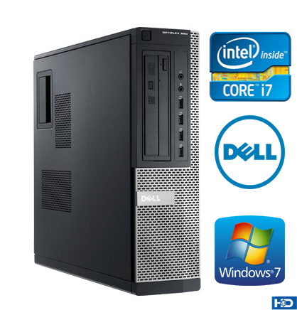 Dell Optiplex 390 Core i7 Ram 4GB SSD 120GB HD 500