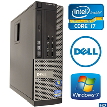 Dell Optiplex 790 Core i7 Ram 4GB SSD 120 HDD 500