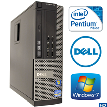 Dell Optiplex 790 Intel Pentium Ram 4GB HDD 250GB
