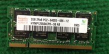 RAM laptop 2GB DDR2
