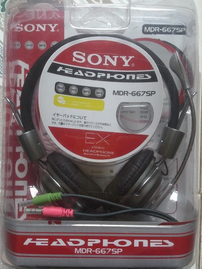 Tai nghe sony MDR-667mv